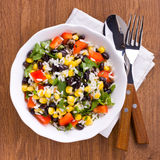 Salade mixte photographie stock