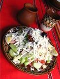 Salade mixte avec des légumes Photos libres de droits