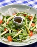 Salade mixte avec la rectification de pétrole images libres de droits
