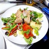 Salade niçoise stock fotografie