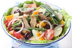 Salade Nicoise royalty-vrije stock fotografie