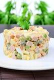 Salade Olivier Photos libres de droits