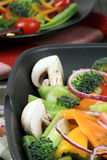 Salade organique saine Images stock