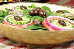 Salade organique saine photos libres de droits
