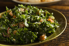 Salade organique saine de taboulé image stock