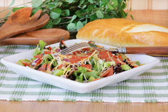 Salade pour le déjeuner Photos stock