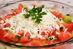 Salade prête image libre de droits