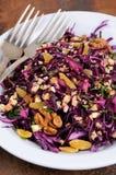 Salade rouge de salade de choux Photos libres de droits