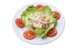 Salade russe Images libres de droits