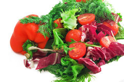 Salade saine. Images stock