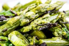 Salade saine d'asperge photos libres de droits