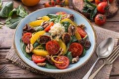Salade saine de detox de fruits et légumes photos libres de droits