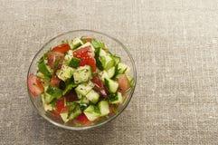 Salade saine de jardin Photo libre de droits