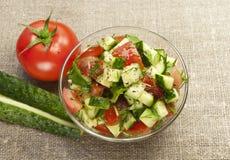 Salade saine de jardin Photos libres de droits