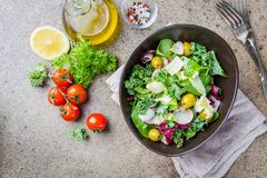Salade saine fraîche photographie stock