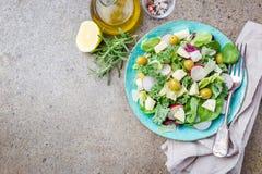 Salade saine fraîche photographie stock libre de droits