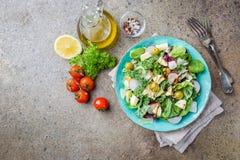 Salade saine fraîche photo libre de droits