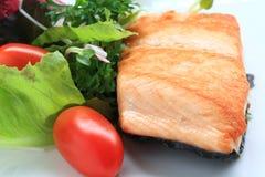 Salade saumonée Photos libres de droits