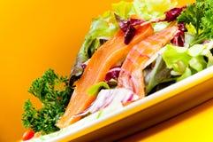 Salade saumonée Images stock