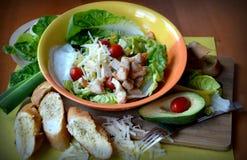 Salade savoureuse fraîche et légère Photographie stock