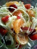 Salade simple de fruits frais photographie stock libre de droits