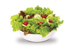 Salade in slag Stock Foto's