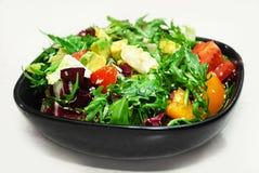 Salade sur le blanc Image libre de droits