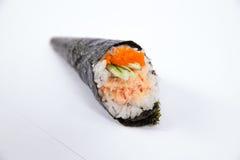 Salade Temaki de homard de petit pain de main Image libre de droits