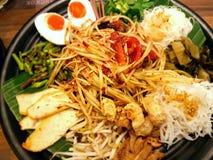 Salade thaïe de papaye Images libres de droits