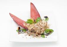 Salade thaïlandaise de style des pousses en bambou Photo libre de droits