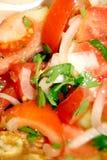 Salade végétale à la maison image libre de droits