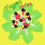 Salade végétale illustration libre de droits