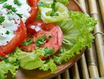 Salade végétale géorgienne photos libres de droits