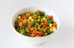 Salade végétale mélangée Photos libres de droits