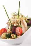 Salade végétale mélangée fraîche Photos libres de droits