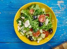 Salade végétale marocaine photos stock