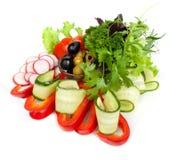 Salade végétale saine Photographie stock