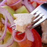 Salade végétarienne grecque Photos stock