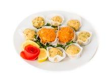 Salade van aardappel Veggie Ballen Royalty-vrije Stock Afbeeldingen