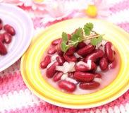 Salade van bonen Stock Foto's