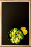 Salade 2 van broccoli Royalty-vrije Stock Foto's
