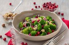 Salade 2 van broccoli Stock Fotografie