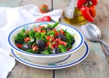 Salade 2 van broccoli Royalty-vrije Stock Foto