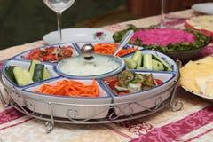 Salade van groente. royalty-vrije stock fotografie