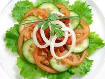 Salade van kip met tandoorikruiden 2 Stock Fotografie