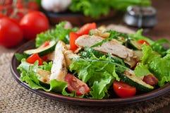 Salade van kippenborst royalty-vrije stock afbeeldingen