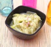 Salade van komkommer royalty-vrije stock afbeeldingen