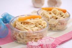 Salade van noedels Royalty-vrije Stock Foto's