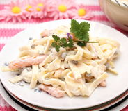 Salade van noedels Royalty-vrije Stock Afbeeldingen
