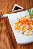 Salade van rijst royalty-vrije stock afbeeldingen